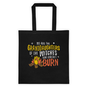 Granddaughters of Witches | Feminist Tote Bag | Rani Bee - Feminist T Shirts & Apparel