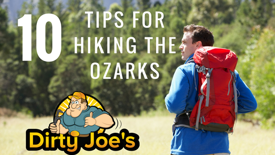 10 Tips For Hiking The Ozarks | Dirty Joes Outdoors Mens Graphic T Shirts | Blog