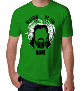 Bearded In His Image Men's T-shirt