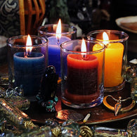 Blessed Herbal Power Votive Candles- by Coventry Creations