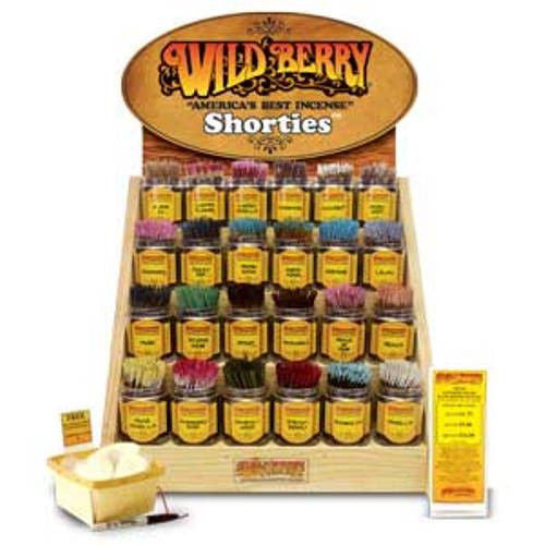 Wild Berry Brand Incense Shorties- 20 pack