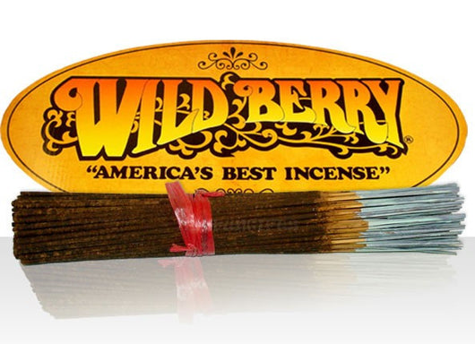 Wild Berry Brand Incense Long Sticks- 10 pack