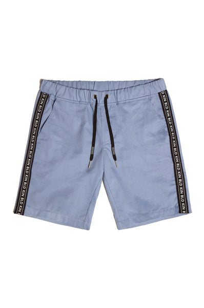 Taped Chino Shorts - Sky