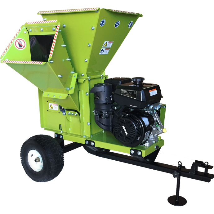 "YARDBEAST 3.5"" Wood Chipper & Shredder - 2090-Chipper-Wood Splitter Outlet"