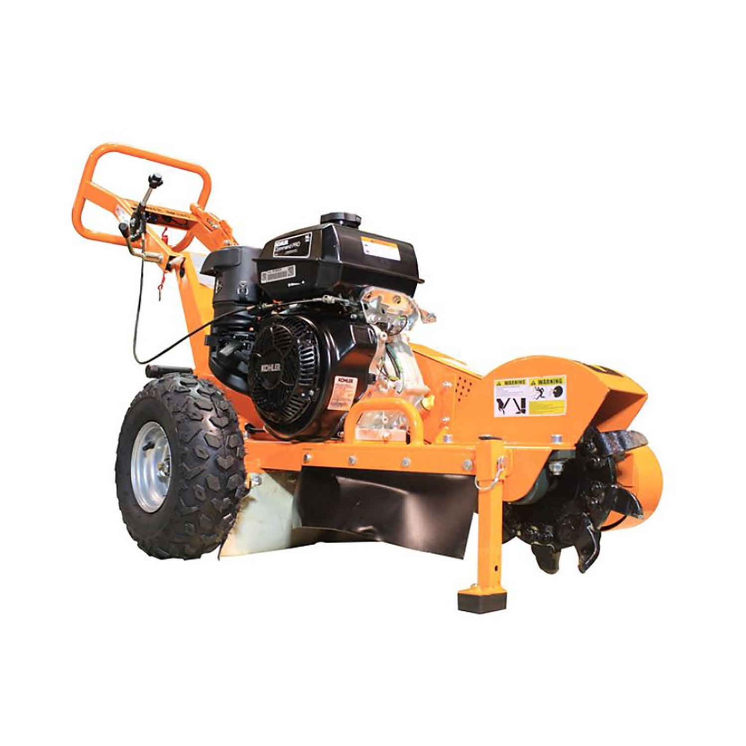Power King Stump Grinder - PK0803 - Wood Splitter Outlet