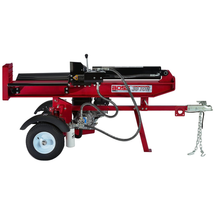 Boss Industrial 30 Ton Commercial Grade Gas Log Splitter-GB30T26-Wood Splitter Outlet