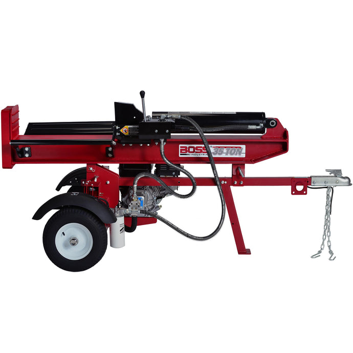 Boss Industrial 35 Ton Commercial Grade Gas Log Splitter-GB35T26-Wood Splitter Outlet