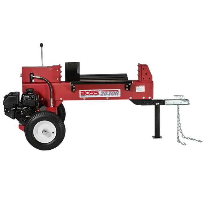 Boss Industrial 20 Ton Gas Log Splitter-GD20T24 - Wood Splitter Outlet