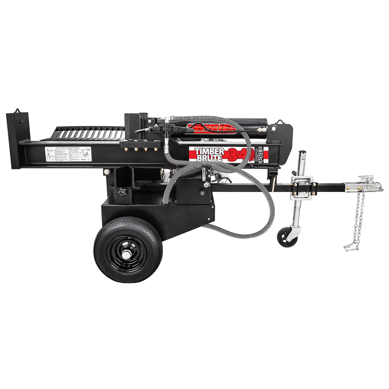 Swisher 34 Ton 14.5 HP Commercial Pro Gas Log Splitter - LSED14534 - Wood Splitter Outlet