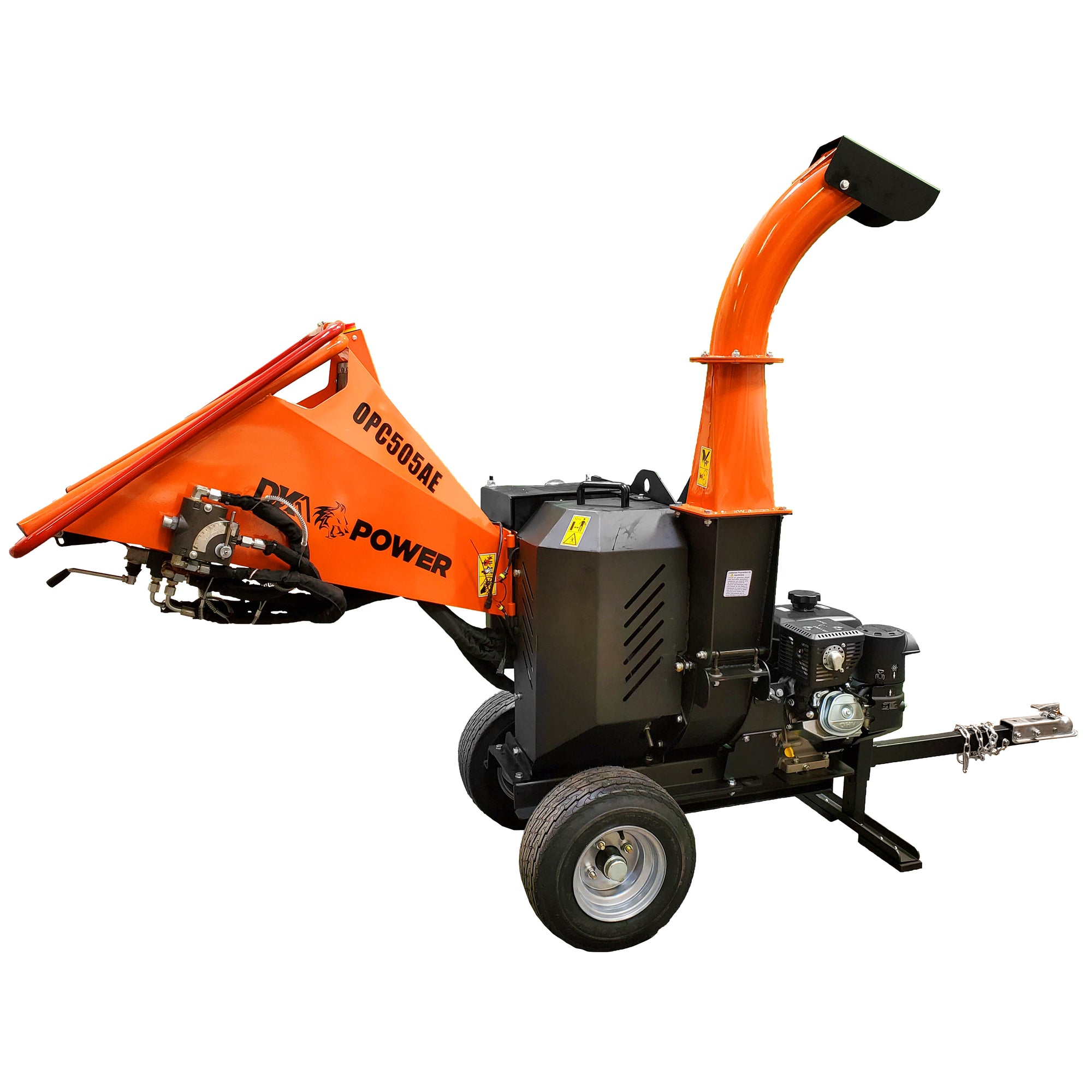 Detail K2 5 Inch 14 HP Chipper with Electric Starter - OPC505AE-Wood Splitter Outlet