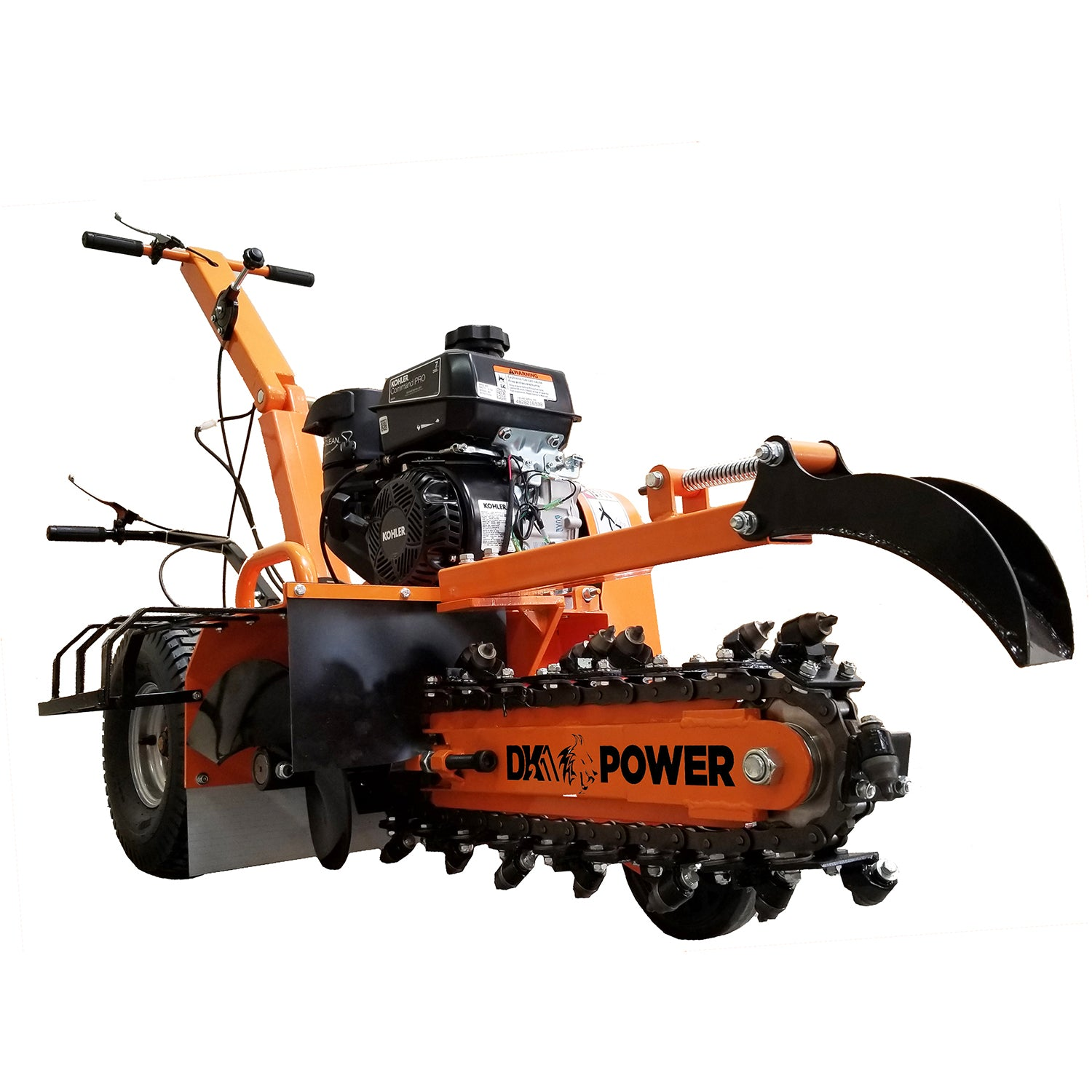 Detail K2 18 Inch 7 HP Trencher - OPT118-Wood Splitter Outlet