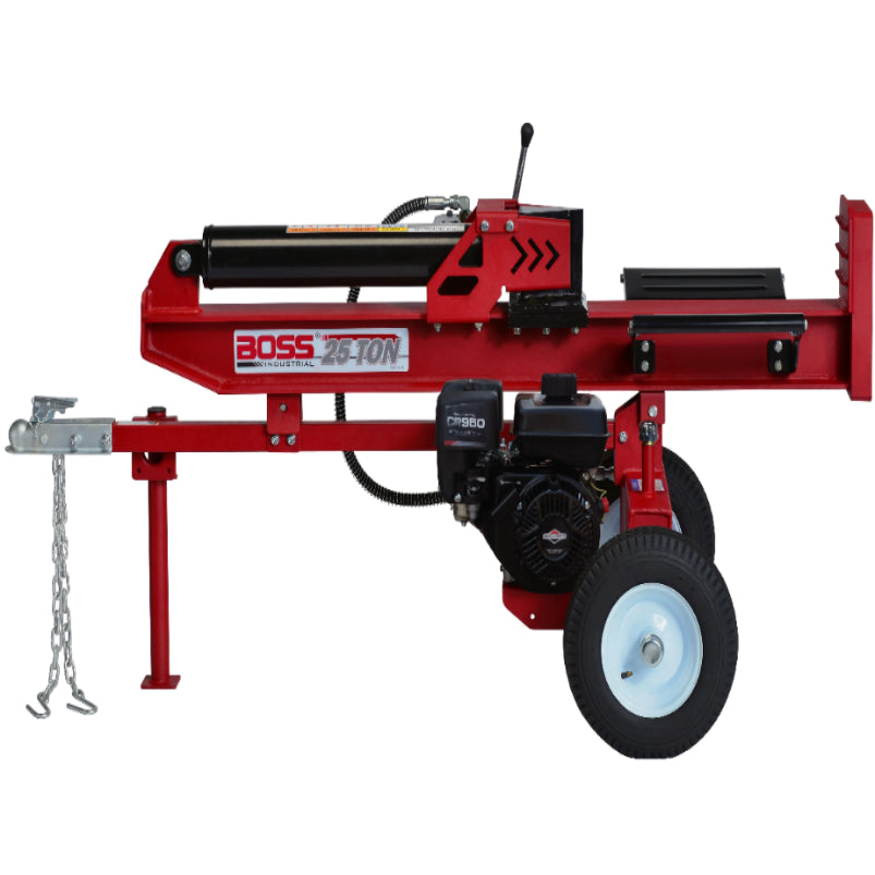 Boss Industrial 25 Ton Gas Log Splitter-WD25T-Gas Splitter-Wood Splitter Outlet