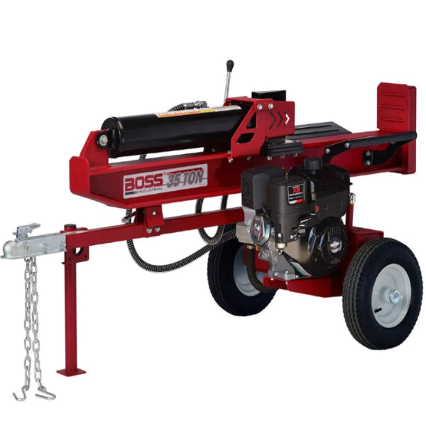 Boss Industrial 37 Ton Gas Log Splitter-WD37T-Bundle-Gas Splitter-Wood Splitter Outlet