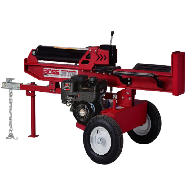 Boss Industrial 35 Ton Gas Log Splitter-WD35T-Gas Splitter-Wood Splitter Outlet