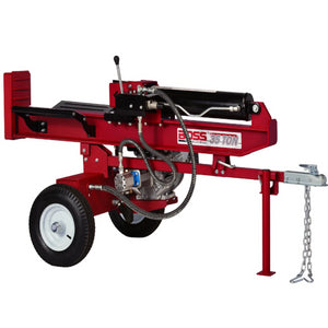 Boss Industrial 35 Ton Gas Log Splitter-WD35T-Bundle-Gas Splitter-Wood Splitter Outlet