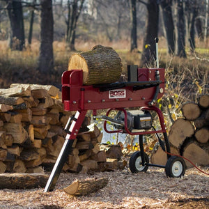 Boss Industrial 10 Ton Electric Log Splitter - ED10T20 - Wood Splitter Outlet