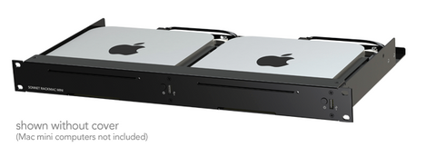 Sonnet RackMac Mini - 1U Rack kit for 2 Mac Minis