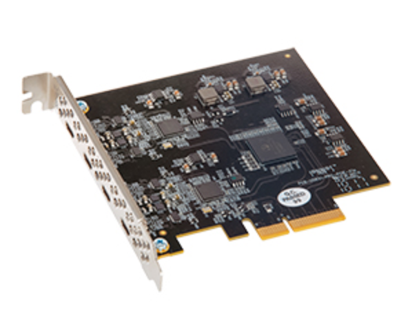 Allegro USB C 4 Port PCIe Card