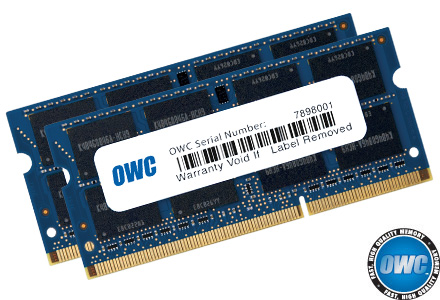 16.0GB OWC Memory Upgrade