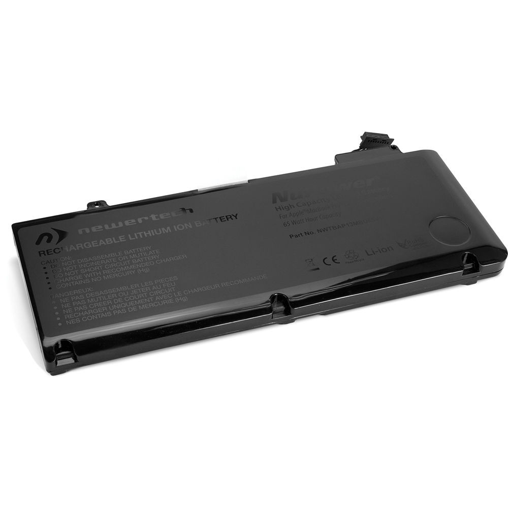 65 Watt-Hour NewerTech NuPower Battery for MacBook Pro 13-inch 2009, 2010, 2011, 2012(excluding Retina Models) - Tools Included
