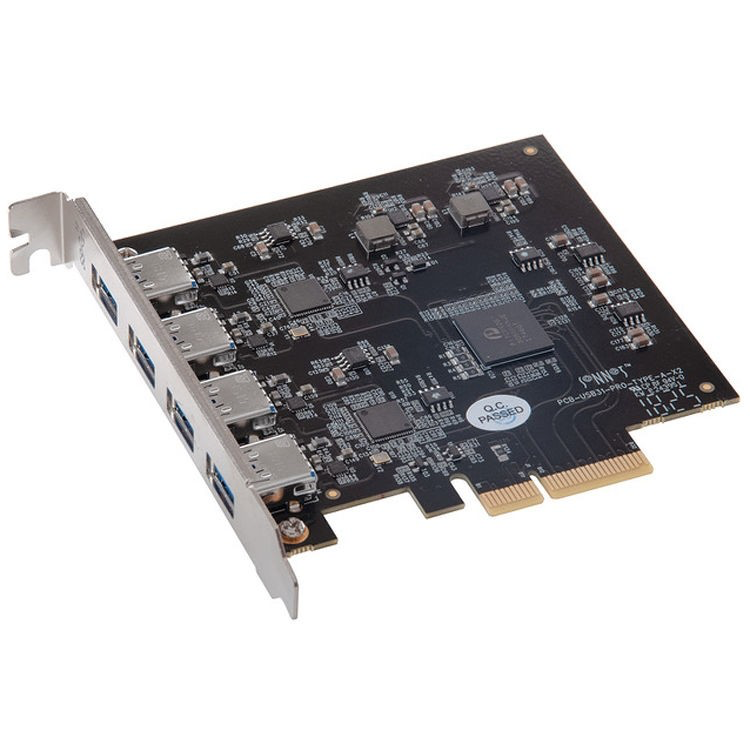 Sonnet Allegro USB 3.1 Pro 4 Port PCIe Card