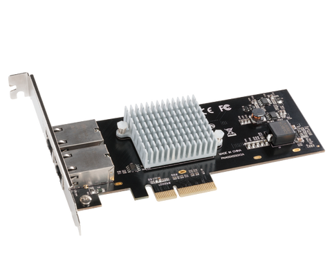 Sonnet Presto 10GbE 10GBASE-T Dual-Port 10 Gigabit Ethernet PCI Express 3.0 Card