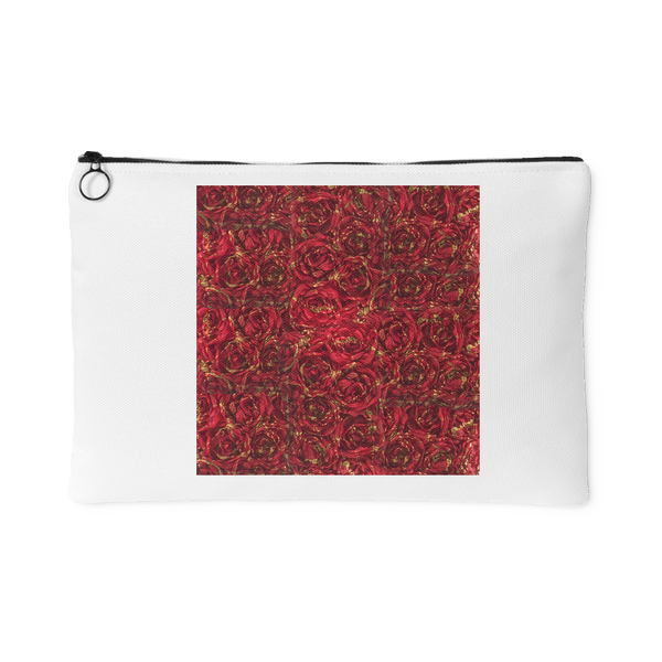Red Rectangular Pouch