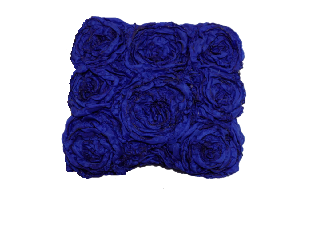 Blue Rectangular Clutch Bag