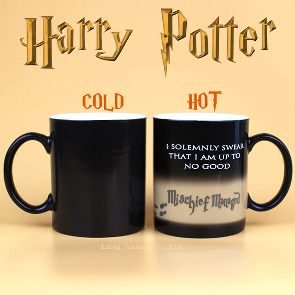 """I Solemnly Swear"" Heat Sensitive Mug"