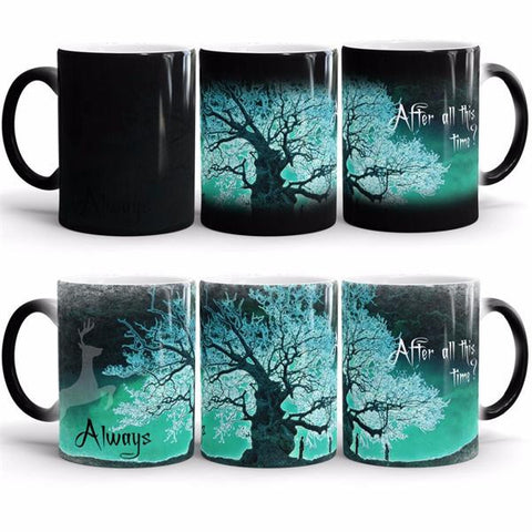 "Harry Potter Mugs ""After all this time"" Heat Sensitive Mug"