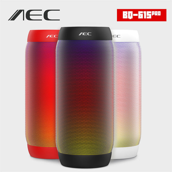 ColorfulL LED Portable Bluetooth Speaker - Wireless Super Bass Mini Speaker