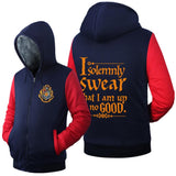 "Premium ""I solemnly Swear"" Harry Potter Hoodie"