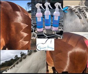 2 in 1 quarter marker and plaiting spray