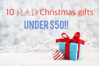 Top 10 Rad Christmas gifts under $50!! 🎄