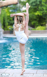 TWEEN Retro Sydney Tankini - White - $48