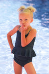 Little Girls Charli - Reversible Tankini - $38
