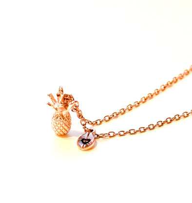 Pineapple Necklace - $12