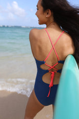 Brooke - Geometric One-Piece - $78