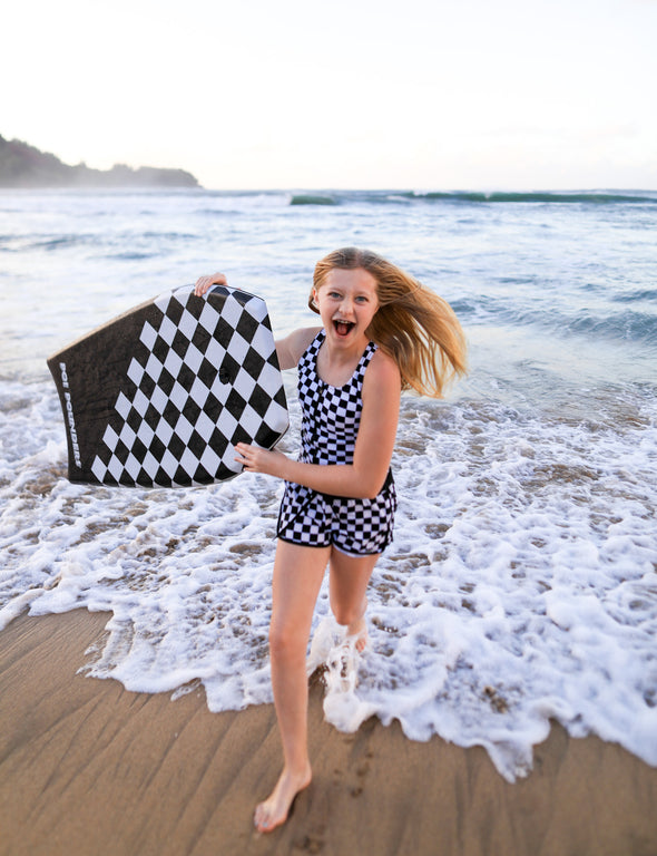 Tween Checkered Shorts - $22