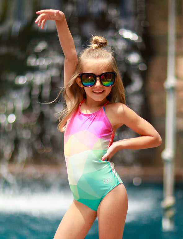 Little Girls Josie - Multi-Colored One-Piece - $32