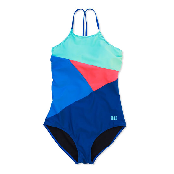 Tween Brooke - Geometric One-Piece - $52