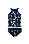 Tween - Kesley Pineapple Tankini - $54