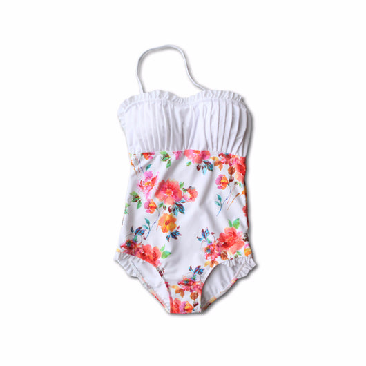 TWEEN Heather Floral Swimsuit - $48