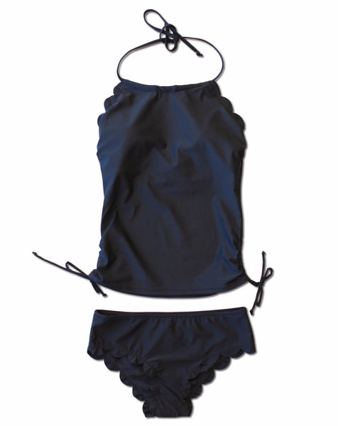 Hallie Tankini - Black - $52