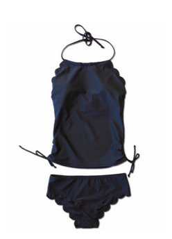 TWEEN Hallie Tankini - Black - $42
