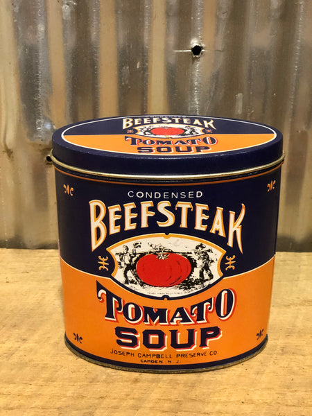 Vintage Beef Steak Tomato Soup Tin