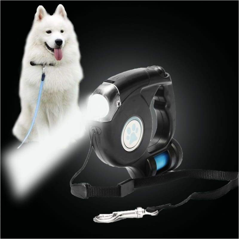 3 in 1 Automatic Retractable Dog Leash - Automatic Retractable Leash 3-in-1 - Free Shipping