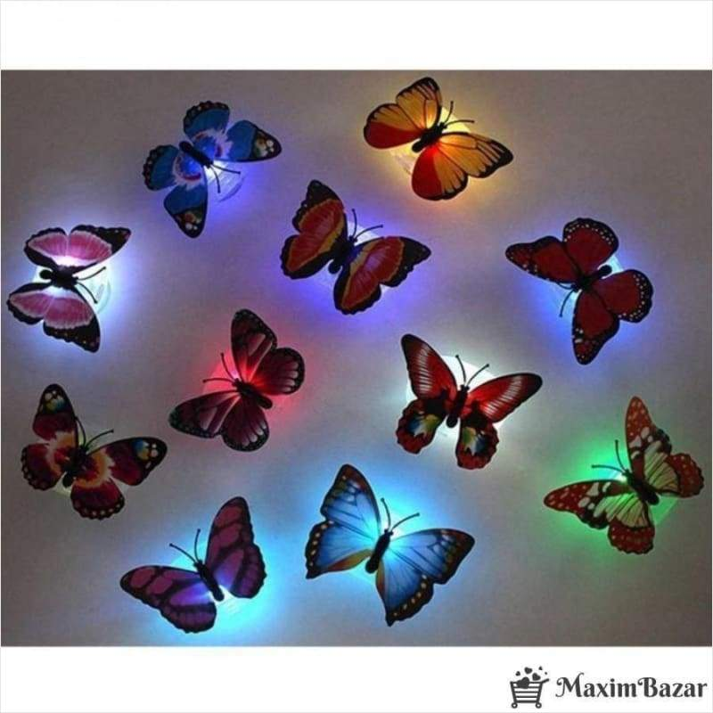3D Butterfly LED Night Light - Butterfly with LED lights - Free Shipping