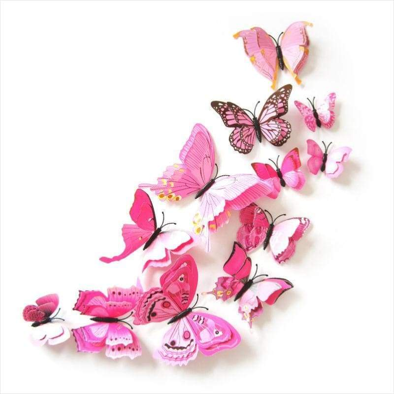 3D Butterfly Wall Stickers - Sticker - Free Shipping