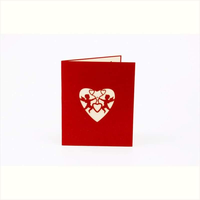 3D Valentines Day Pop Up Greeting Gift Cards - Greeting Card - Free Shipping